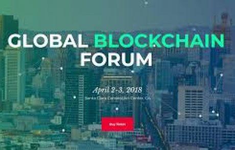 John McAfee, Tim Draper and Michael Arrington at Global Blockchain Forum