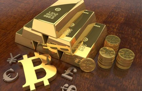 After a 5% Crash in Hours: Gold's Price Down 9% YTD While Bitcoin is up 50%