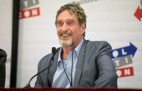 John McAfee: The US Has No Control Over Bitcoin, BTC Price Will Surge in a Week