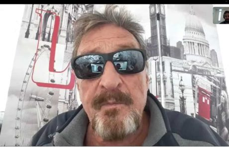 John McAfee on Steem-Tron Controversy: Communities Cannot Be Purchased, Justin Sun Is Collecting Water With A Sieve