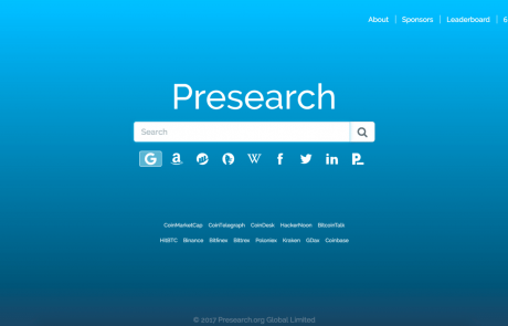 This Search Engine Will Pay You To Switch From Google: Presearch (PRE) Founder Talks About His Tough Mission
