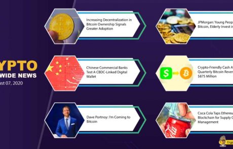 This Was The Week Of The Top 10: The Crypto Weekly Market Update