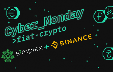 Simplex and Binance Launch Extended Cyber Monday Special: Reduced Fees for Purchasing Crypto with Cards